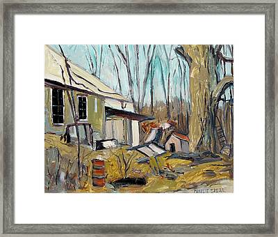 Spring Cleaning Framed Print by Charlie Spear