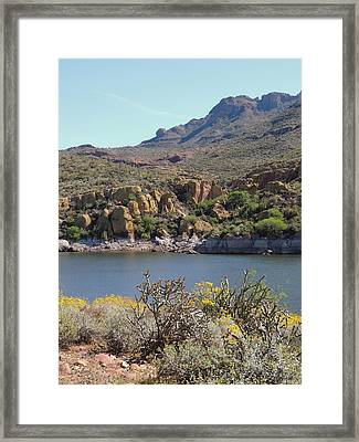 Framed Print featuring the photograph Spring Color by Gordon Beck