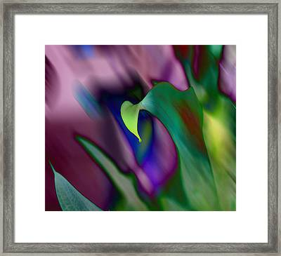 Spring Colors 1 Framed Print by Evelyn Patrick