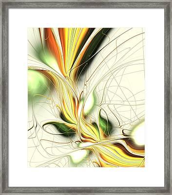 Spring Colors Framed Print by Anastasiya Malakhova
