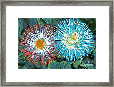 Spring Colors Framed Print by Kathleen Struckle