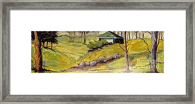 Spring Course Ready Framed Print by Charlie Spear