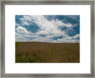 Framed Print featuring the photograph Spring Creek Prairie by Joshua House