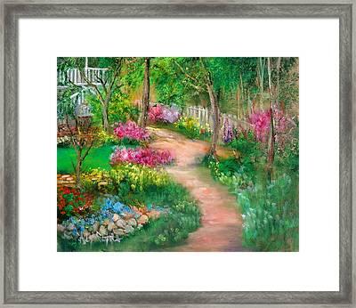 Spring Daze Framed Print by Sally Seago
