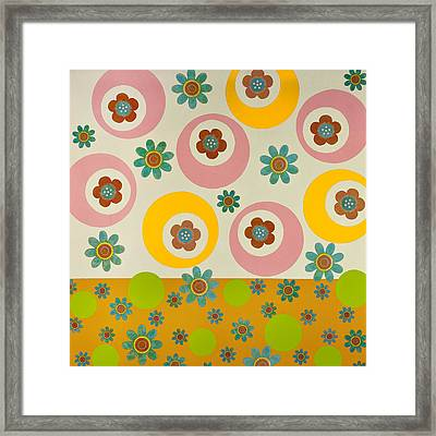 Spring Delight Framed Print