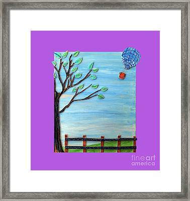 Spring Drifter Framed Print by Aqualia