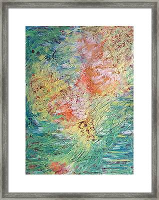 Framed Print featuring the painting Spring Ecstasy by Nicolas Bouteneff
