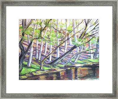 Spring Eventide Framed Print by Grace Keown