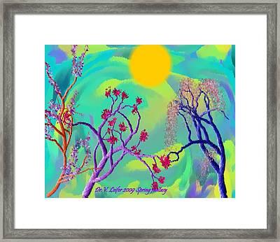 Spring Fantasy Framed Print by Dr Loifer Vladimir