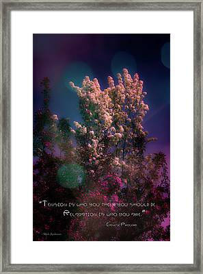 Spring Fantasy Framed Print