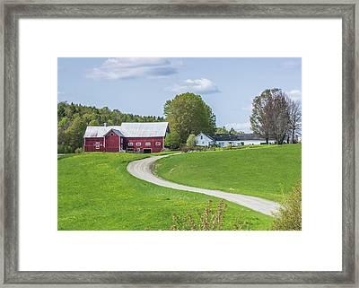 Spring Farm Framed Print