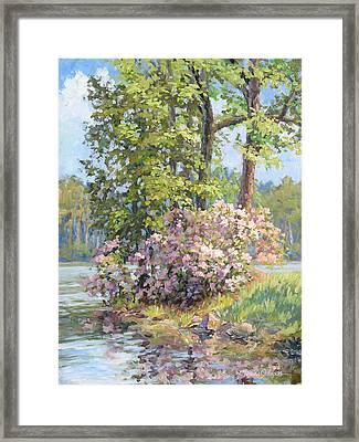 Spring Festival Framed Print by L Diane Johnson