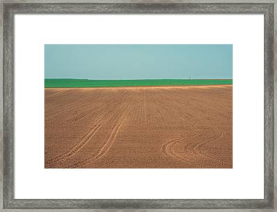 Spring Fields Framed Print