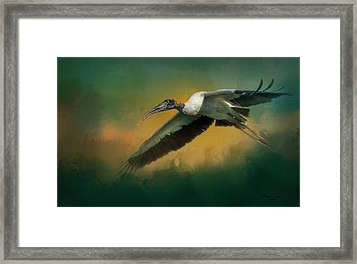 Spring Flight Framed Print by Marvin Spates