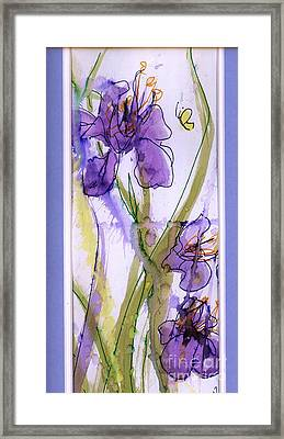Framed Print featuring the painting Spring Fling by P J Lewis