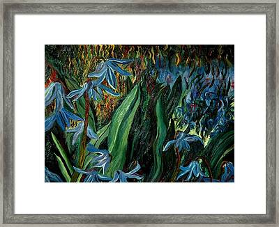 Spring Flower Framed Print by Gregory Allen Page