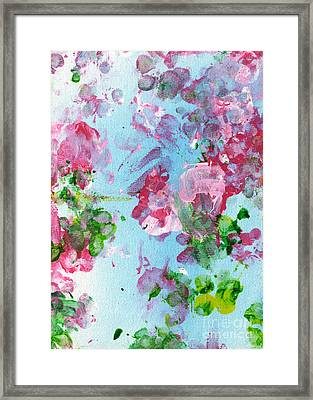 Spring Flowers Framed Print by Antony Galbraith