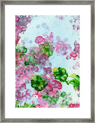 Spring Flowers II Framed Print by Antony Galbraith