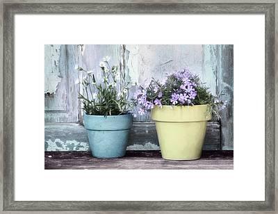 Spring Flowers Framed Print by Lori Deiter