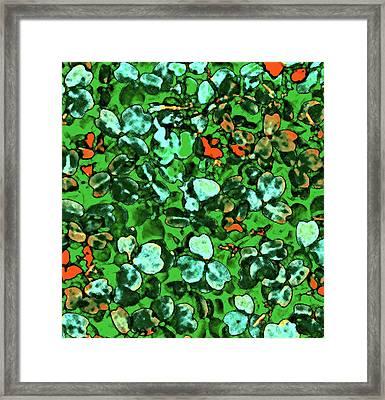 Spring Foiliage Framed Print