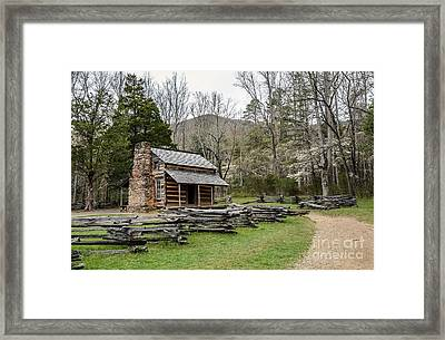 Spring For The Settlers Framed Print by Debbie Green