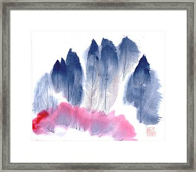 Spring Forest Framed Print by Mui-Joo Wee