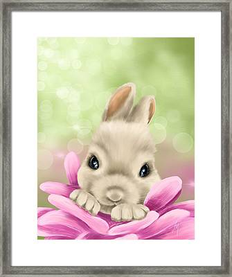 Spring Game Framed Print by Veronica Minozzi