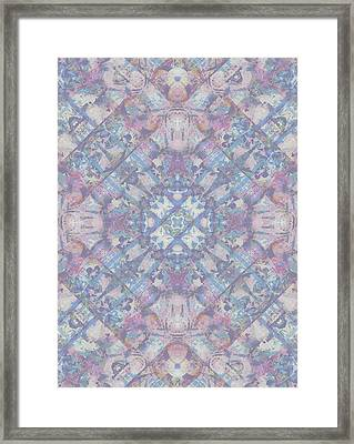 Spring Geo Framed Print by Beth Travers