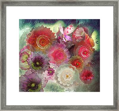 Framed Print featuring the photograph Spring Glass by Jeff Burgess