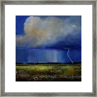 Spring Green Pastures  Framed Print by Toni Grote