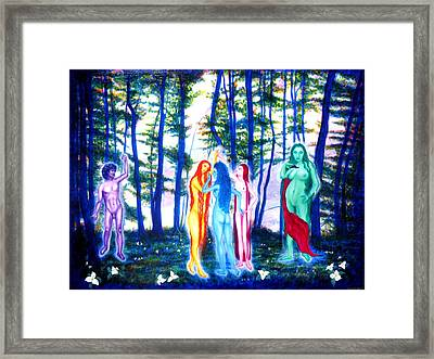 Spring Grove Framed Print by Tom Hefko