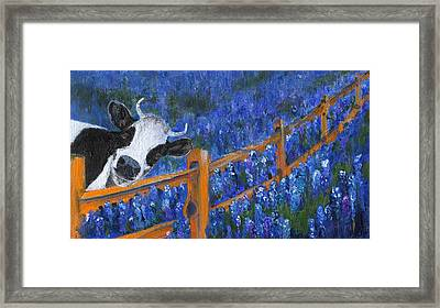 Framed Print featuring the painting Spring Has Sprung by Jamie Frier
