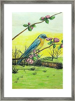 Spring Has Sprung Framed Print by Larry Lamb