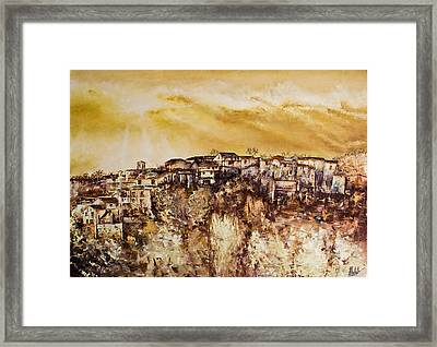 Spring Heat Framed Print