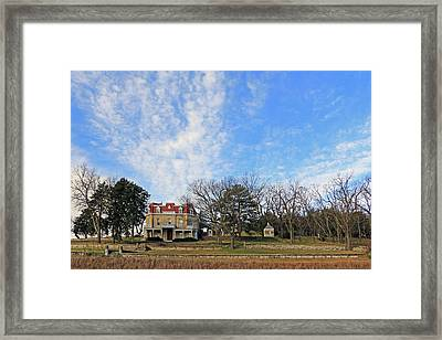 Spring Hill Ranch Framed Print by Christopher McKenzie