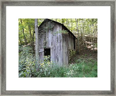 Spring House Framed Print by Terry  Wiley