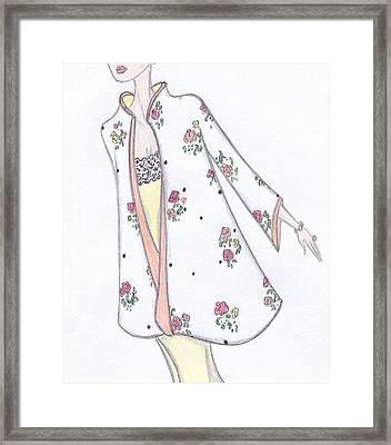 Spring In Bloom Framed Print by Christine Corretti