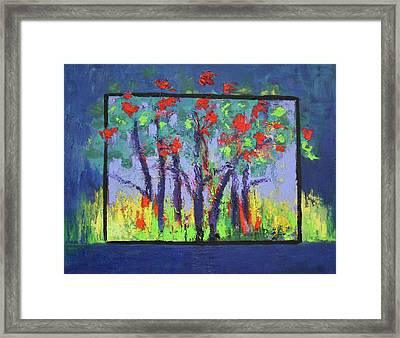 Spring In Burnt Store Framed Print