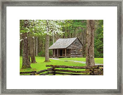 Spring In Cades Cove Framed Print