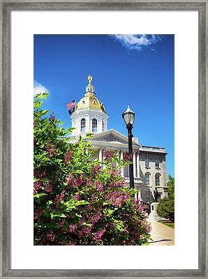 Spring In Concord Framed Print