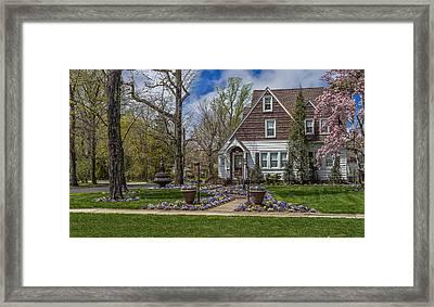 Spring In Hammonton Framed Print