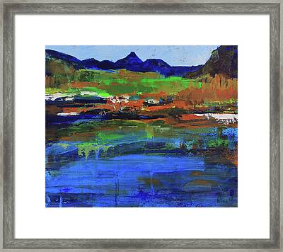 Spring In High Country Framed Print