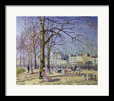 Early Spring Paintings Framed Prints