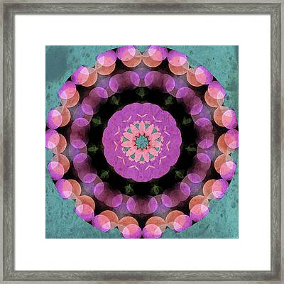 Spring In Its Glory Framed Print by Bonnie Bruno