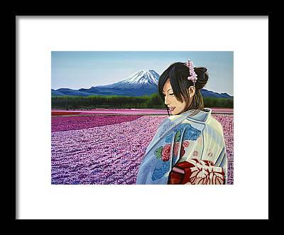 Japan Culture Framed Prints