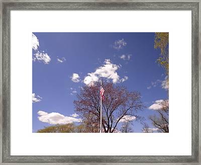 Spring In New England Framed Print