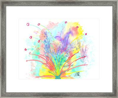 Spring In The Air Framed Print