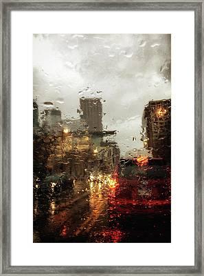 Spring In The City Framed Print