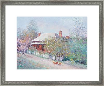 Spring In The Country Framed Print by Jan Matson