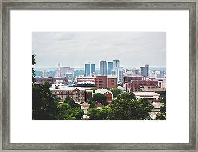 Framed Print featuring the photograph Spring In The Magic City - Birmingham by Shelby Young